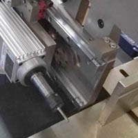 double head water slot milling machine head