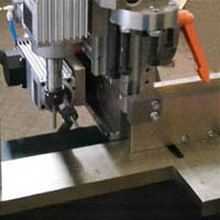 double head water slot milling machine details