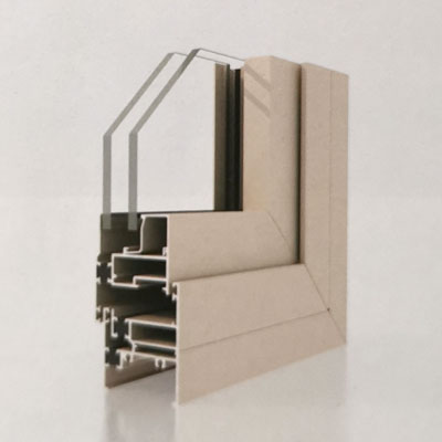 WM50 Insulation Aluminum Casement Window Profiles
