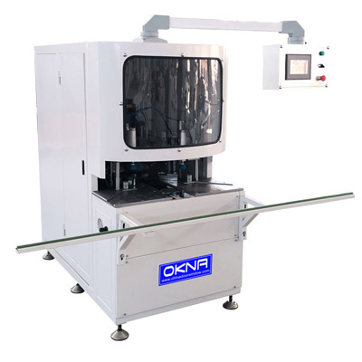 CNC Corner Cleaning Machine For PVC Window